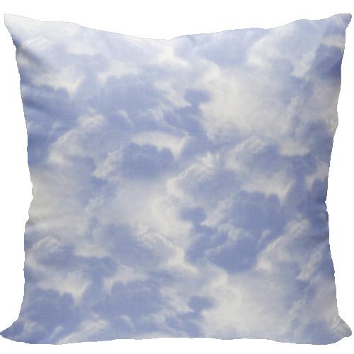 [Oi] 파란 하늘 구름 패턴 쿠션 스카이 (sky)
