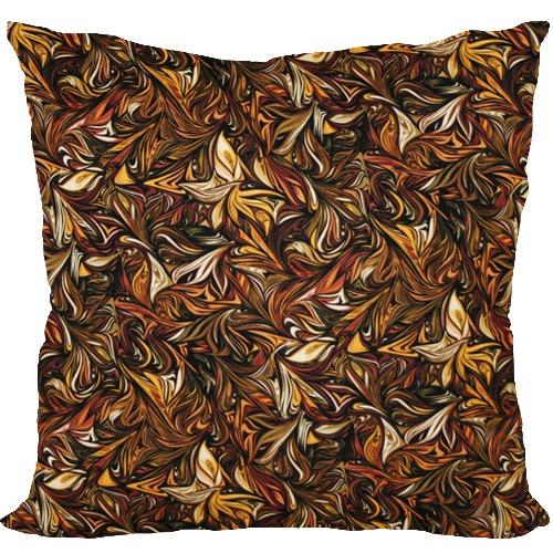 [Oi] 가을을 흠뻑느낄 수 있는 패턴 쿠션 폴른리브즈 (fallen leaves)