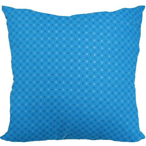 [Oi] 시원한 블루 컬러의 패턴 쿠션 세븐데이 (seven day)