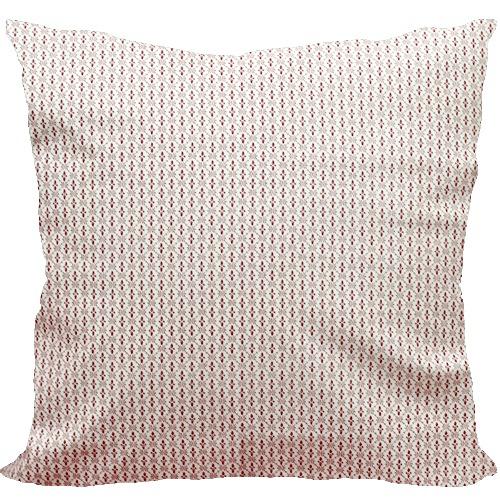 [Oi] 레드컬러의 작은 패턴 쿠션 리틀레디 (little redy)